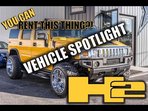 Spotlight - 2005 Hummer H2, Leveled, 22x14's and 325/50's