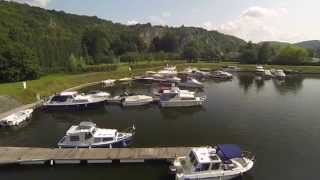 preview picture of video 'Air Pic's - Port de Plaisance - Dinant'