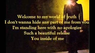 Adam Lambert - Underneath (lyrics)