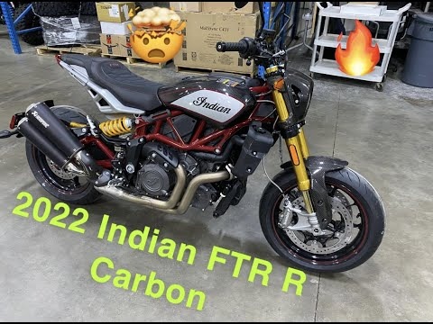 2022 Indian FTR R Carbon in Ottumwa, Iowa - Video 1