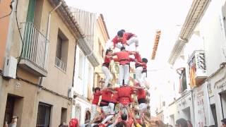 preview picture of video '4 de 6 amb agulla carregat de Castellers de Rubí'