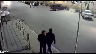 Беспредел участника ДТП в Дербенте