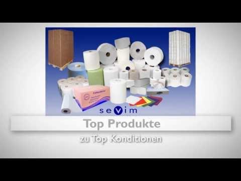 papierhandtücher kaufen Jumborollen Toilettenpapier Tankhandschuhe Dieselhandschuhe Spender Sevim