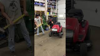 Behind The Scenes (Fixing Up A Troy Bilt Mower)