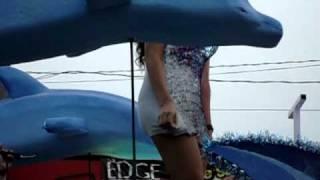Betty Monroe presente en el carnaval poza rica .AVI