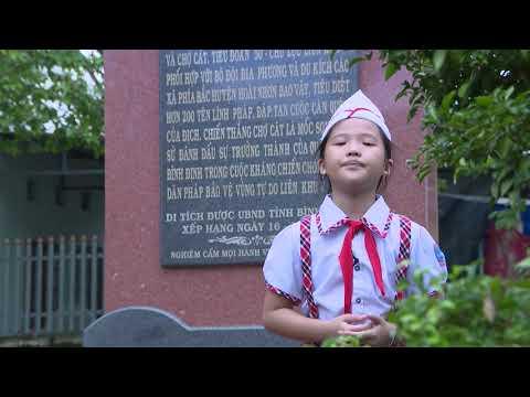 Liên đội Trường tiểu học số 1 Hoài Hảo tham dự cuộc thi video clip thiếu nhi hát Quốc ca