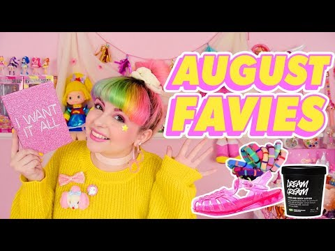 AUGUST FAVIES ♡ Lush, Too Faced, Jelly Shoes, & More!