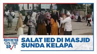 Gelar Salat Id, Masjid Agung Sunda Kelapa Terpantau Ramai