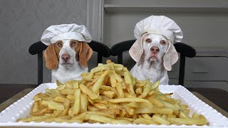 Chef Dog vs Chef Dog: French Fries Edition - Who Makes the Best?