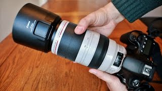 Canon EF 100-400mm F/4.5-5.6 IS USM 'L' 'ii' Lens Review With Samples (Full-frame And APS-C)