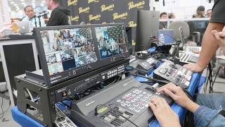 Behind the Scenes: Streaming HUB at the 2018 NAMM Show by Datavideo