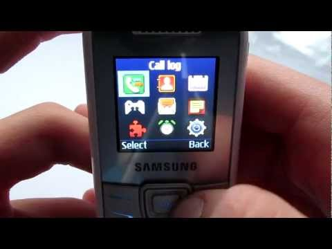 Samsung GT-E1200 unboxing