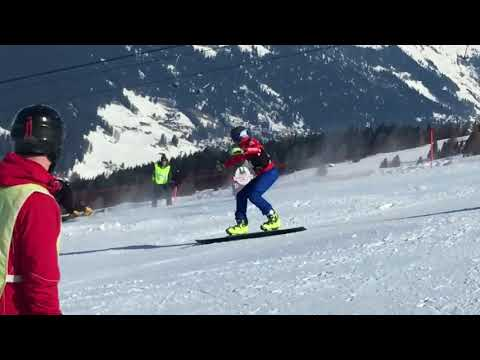Swiss National Championship and Europa Cup Davos snowboard PSL 2018