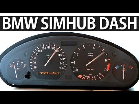 BMW E36 Tacho Cluster mit Arduino und SimHUB in Assetto Corsa