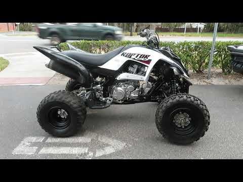 2020 Yamaha Raptor 700 in Sanford, Florida - Video 1