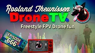 LIVE Drone TV - #FPV in #4k The freaking bastard came