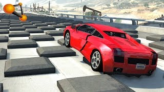 BeamNG.drive - Speed Bumps High Speed Crashes #14