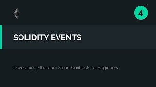 04. Capturing Smart Contract Events in our User Interface (Solidity)