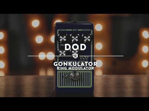 DOD Gonkulator Ring Modulator | Reverb Demo Video