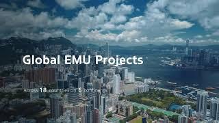 Hyundai Rotem EMU  - Drone images - filmagens e fotos aéreas em alta definição