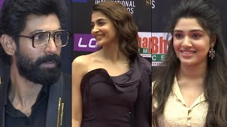 Hero Rana Shocking Reaction At SIIMA Awards | Pooja Hegde | Krithi Shetty
