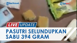 Pasutri Selundupkan Sabu 394 Gram di Bandar Udara Juwata Tarakan, Bungkus Narkoba di Kue Kemas