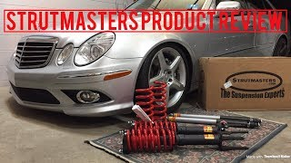 We Removed the Air Suspension on our Mercedes Benz E550