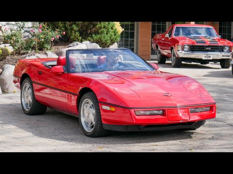 Video of '89 Corvette - MDVF
