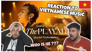 Reaction to Vietnamese Music: SOOBIN X SLIMV - THE PLAYAH(Special Performance /Official Music Video)