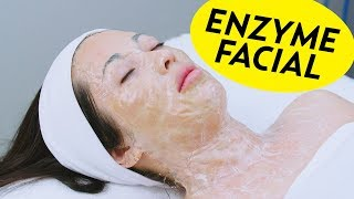 Better Than Hanacure? We Tried the DMK Enzyme Facial! | The SASS with Susan and Sharzad