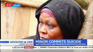 Grief in Nyeri as a 15-year-old girl commits suicide by hanging herself