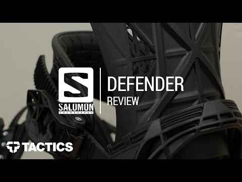 Salomon Defender 2018 Snowboard Binding Review – Tactics.com