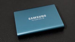 Samsung Portable SSD T5 - Review und Vergleich Deutsch