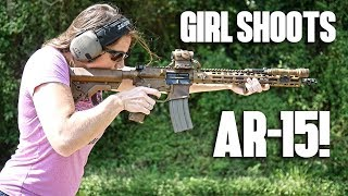 Train Your Lady To Shoot an AR-15!