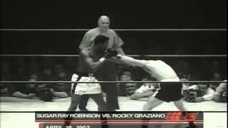 1952-4-16 Ray Robinson vs Rocky Graziano