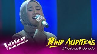 Pepey - Ilalang | Blind Auditions | The Voice Indonesia GTV 2019