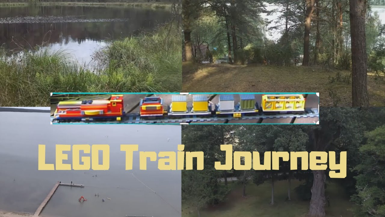 LEGO TRAIN MOC JOURNEY AROUND THE BEAUTIFUL SURROUNDING