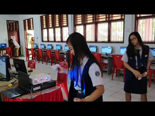 Simulasi UNBK SMP Negeri 2 Tondanp