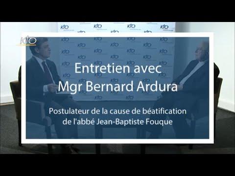Entretien Mgr Bernard Ardura