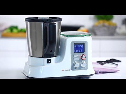 AMBIANO Küchenmaschine mit Kochfunktion: Funktionen und Anwendung