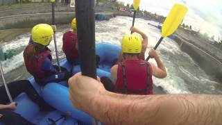 preview picture of video 'Rafting -  Markkleeberg 2014 with GoPro'