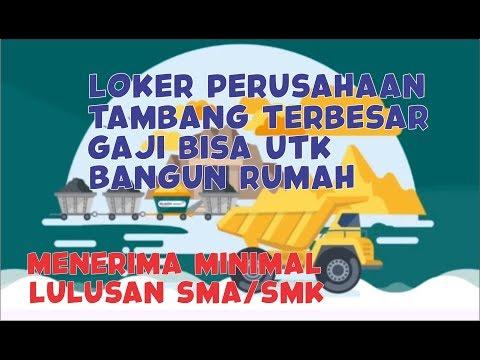 Info LOKER PT.ANTAM (BATCH 2) | LULUSAN SMA/SMK| PERUSAHAAN TAMBANGAN TERBESAR | LOWONGAN KERJA
