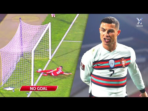 When Football Stars Got Robbed From Goals