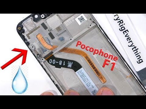 Pocophone F1 Teardown – I found LIQUID inside!