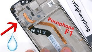 Pocophone F1 Teardown - I found LIQUID inside!