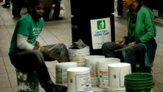 Larry subway drummer  - New York City 2009