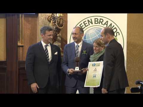 GREEN BRANDS Austria 2014 Galavečer – Oceňování značek