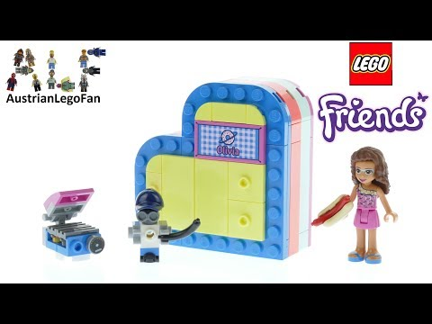 Vidéo LEGO Friends 41387 : La boîte cœur d'été d'Olivia