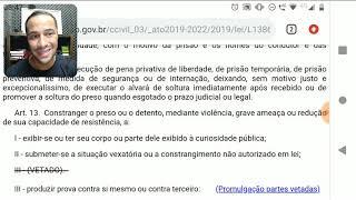 LEI ABUSO DE AUTORIDADE PARA O GUARDA MUNICIPAL