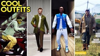 GTA Online AWESOME LOOKING OUTFITS! (Wonder Woman, The Smuggler, The Air Fighter & More)